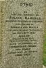 Gittleson/Julius Samuels headstone.png